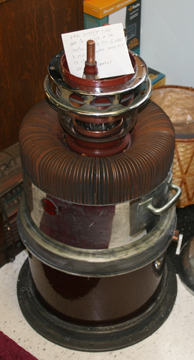 Radio Transmitter Tube from KDKA