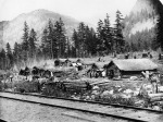 Camp Building the Canadian Pacific