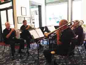 The Brass Ensemble at  The Symphony Office